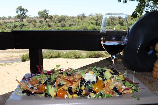 Singita Private Game Reserve, Sudáfrica: Lunch with a view