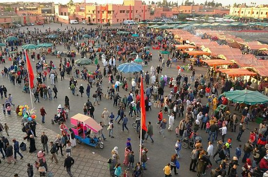 Experience Marrakech: Food and Market...