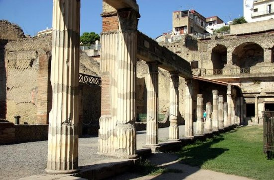 Herculaneum Day Trip with Hotel...