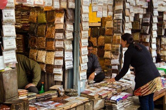 Kathmandu stalls