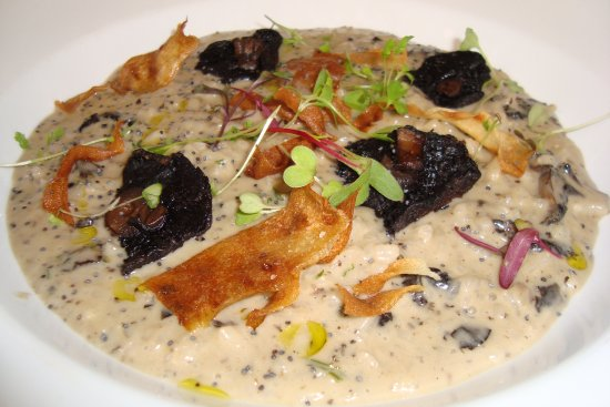 Pohara, Nueva Zelanda: Mushroom and Parmesan Risotto ... delicious!