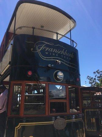 Franschhoek Wine Tram: Double decker wine tram