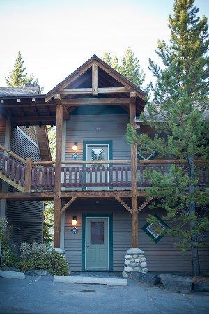 Buffalo Mountain Lodge: Entrée des chambres