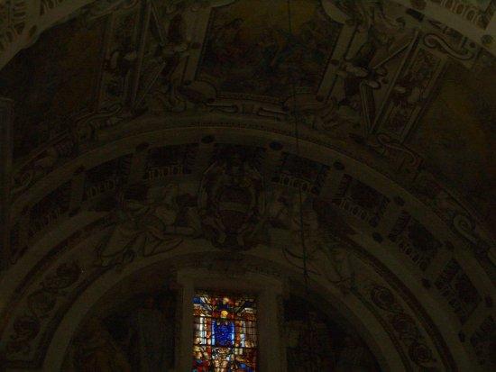 Tempio di San Biagio: particolare dell'abside