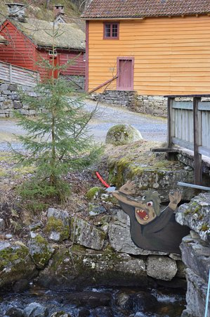 Sandane, Norway: Have you heard the fairy tale of the three Billy goats? You can play it out in the outdoor museu