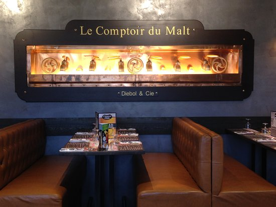 restaurant le comptoir du malt dans noyon avec cuisine barbecue grillades. Black Bedroom Furniture Sets. Home Design Ideas