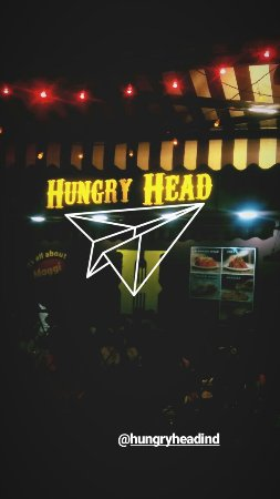 Hungry Head: This is how it looks! open joint