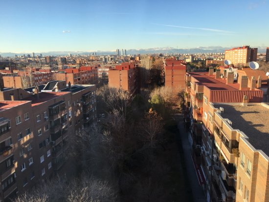 Silken Torre Garden: View from 7th floor