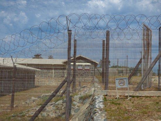 Robben Island: The camp
