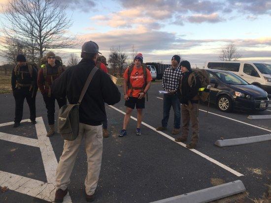 Sharpsburg, MD: Setting the scene at 7AM!