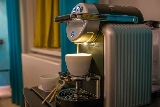 Nespresso Coffee Machine In Room Were A Nice Treat Picture Of