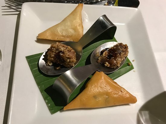 """Yummy starters in the """"Signature"""" restaurant"""