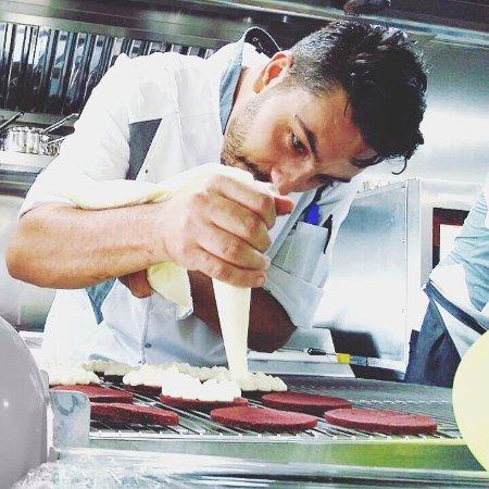 Chez Jan : Chef de Cuisine Alberto!