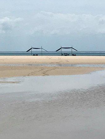 Benguerra Island, Mozambique: Castaway Picnic Setup