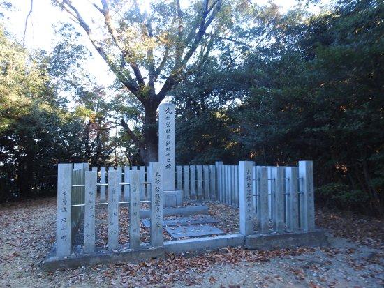 Odaka Green: 殉難烈士の碑。佐久間盛重を将とした織田方が立てこもったが、松平元康の軍と激戦の末、全滅したそうです。