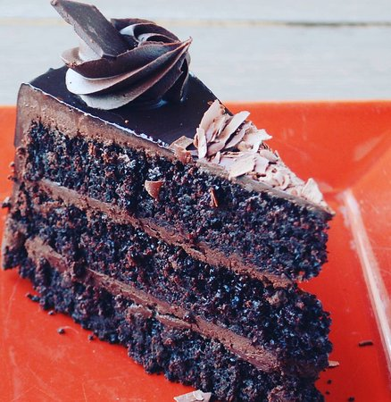 Flying Star Cafe: Double Chocolate Indulgence