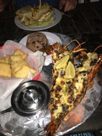 Bodden Town, Grand Cayman: Lobster!