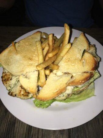Bodden Town, Grand Cayman: Fish sandwich
