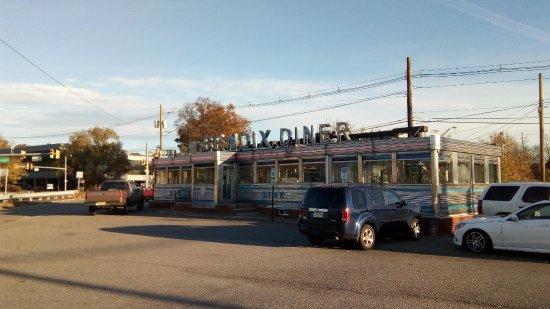 Hasbrouck Heights, Nueva Jersey: Diner exterior