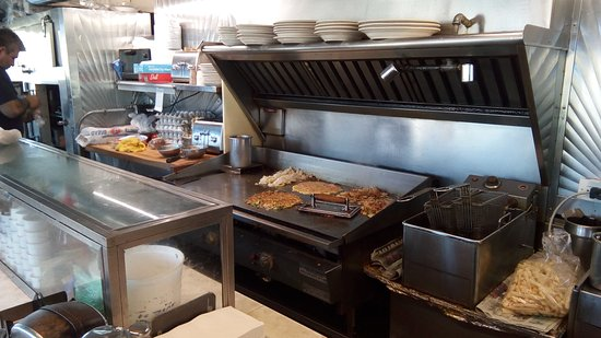 Hasbrouck Heights, Nueva Jersey: The Grill is always busy