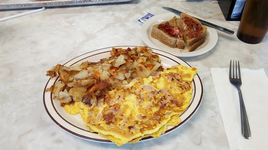 Hasbrouck Heights, Nueva Jersey: A plate full of food