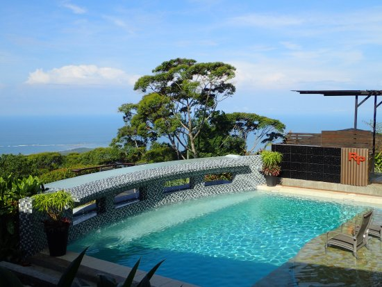 Rancho Pacifico: The RP Pool with incredible views of the Whale's Tail and the Pacific Ocean