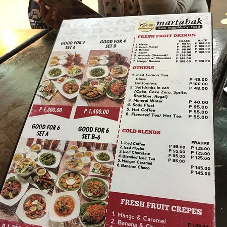 martabak cafe manila restaurant reviews photos tripadvisor rh tripadvisor com