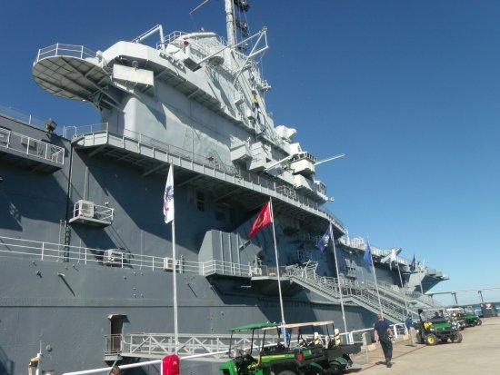 Patriots Point Naval & Maritime Museum: USS Yorktown em Patriots Point.