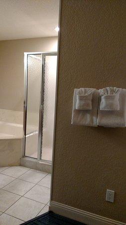 Blue Tree Resort At Lake Buena Vista Room 2 Showing No Door On