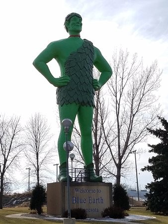 Green Giant Statue Park - Blue Earth, MN