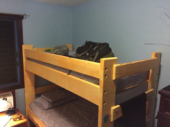 Bunk Bed Style Rooms In The Least Expensive Option Decent Comfort