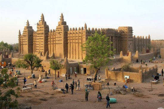 Great Mosque Of Djenné: Grande mosquée de Djénné