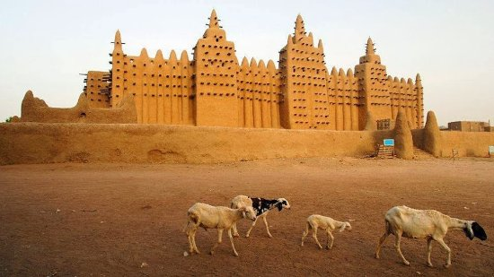 Great Mosque Of Djenné: Mosquée de Djénné