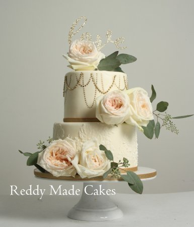Reddy Made Cakes Wedding Cake 75th Birthday