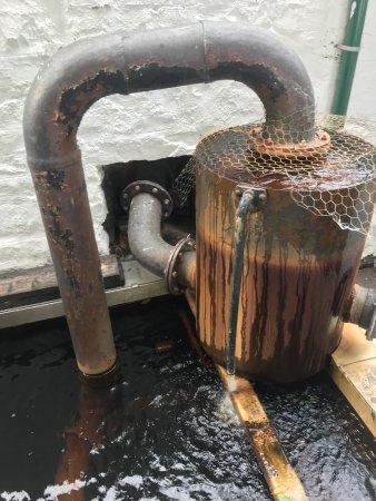 Edradour Distillery: Rustic
