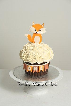 Reddy Made Cakes 1st Birthday Woodland Theme