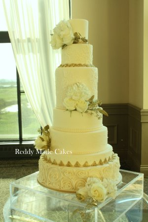 7 Tiered Wedding Cake Photo De Reddy Made Cakes