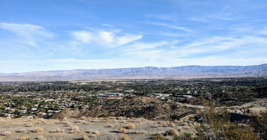 "Desert Breezes Resort: On top o the ""bump and grind"" hike"