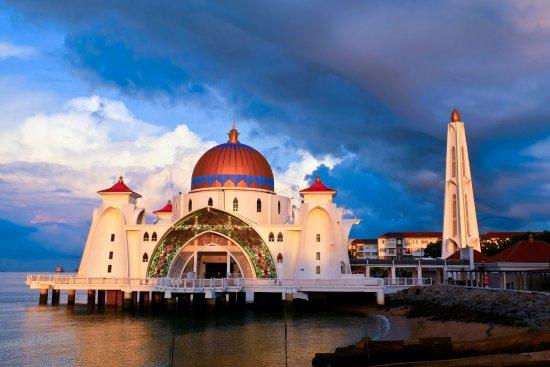 马六甲海峡清真寺