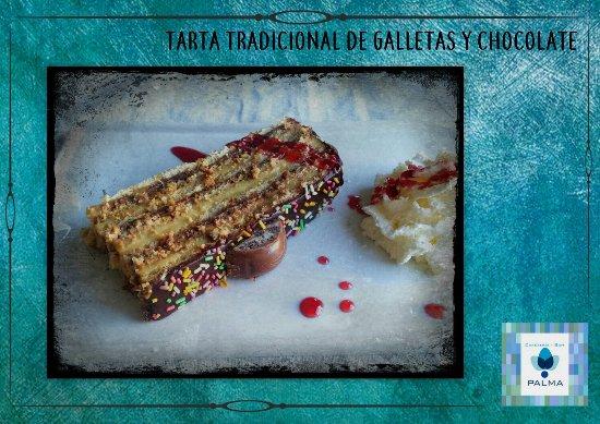 Benaoján, España: Tarta Tradicional de Galletas y Chocolate