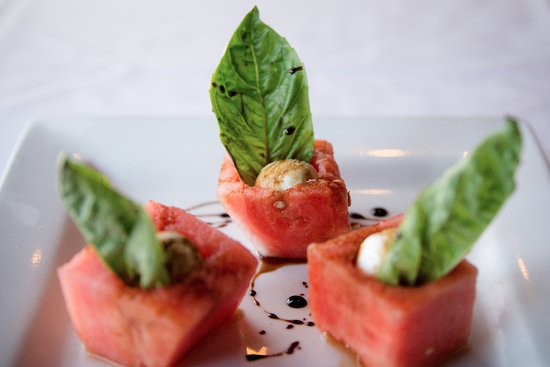 Del Mar, Californië: Watermelon Caprese