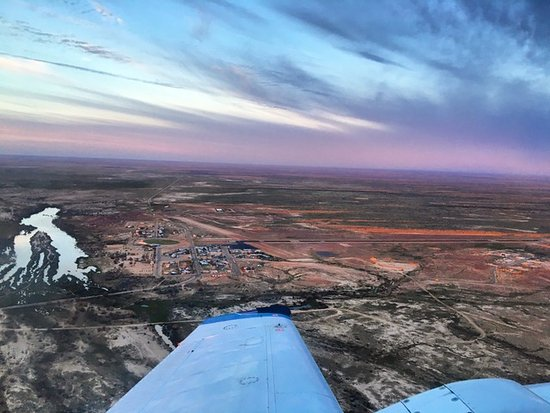Burketown from the air