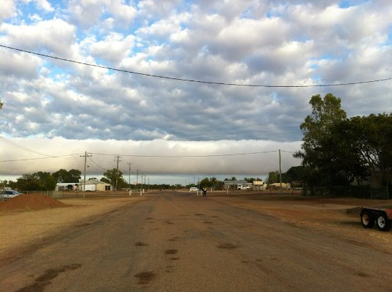 Morning Glory Cloud rolling over Burketown