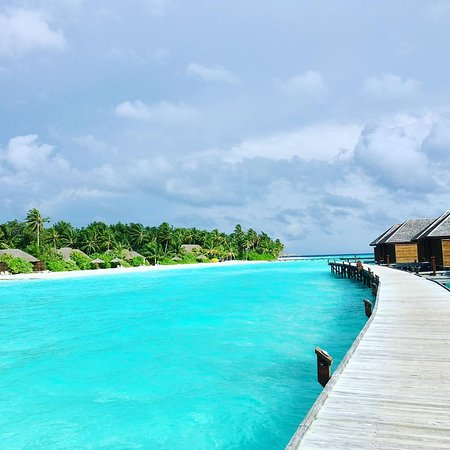 Veligandu Island Resort & Spa: Water bungalows!