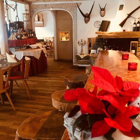 Klosters, Szwajcaria: Restaurant Rolf's Hot-Stone