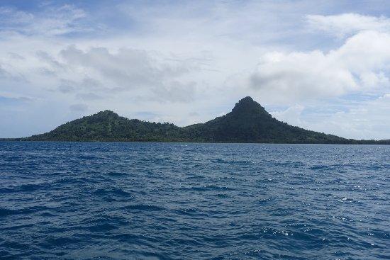 Chuuk, Federated States of Micronesia: En riktig idyll var att ta del av Truk lagun.
