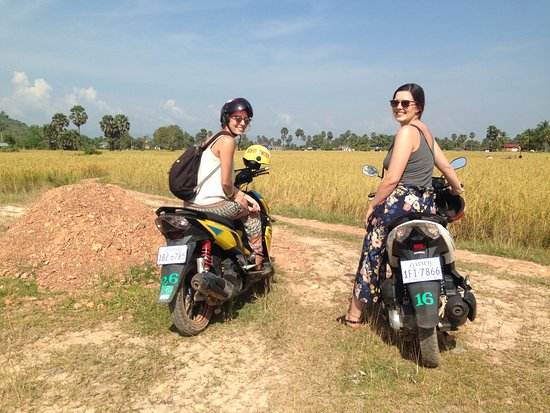 A wonderful trip to the countryside of Kampot.