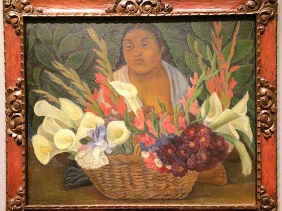 Honolulu Museum of Art - The Flower Seller - Diego Rivera