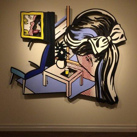 Honolulu Museum of Art - Woman Contemplating a Yellow Cup - Lichtenstein