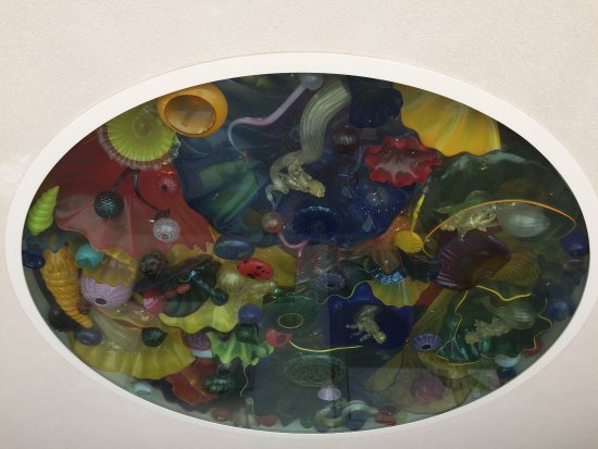 Honolulu Museum of Art - Chihuly ceiling